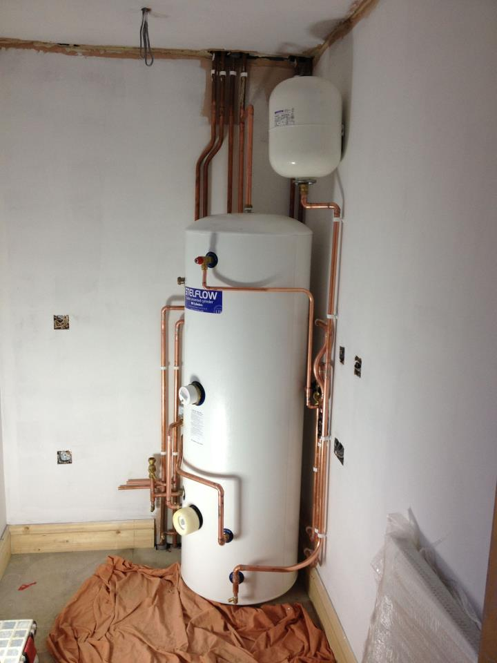 Unvented Hot water Systems - Delaney Plumbing