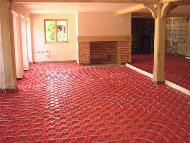 Underfloor heating delaney plumbing for House floor heating systems