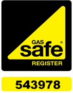 Gas Safe Register No. 543978