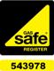 Gas Safe Register No. 543978